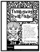 Thanksgiving Break Packet for 2nd Graders