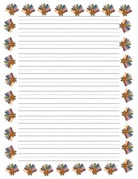 Thanksgiving Break Writing