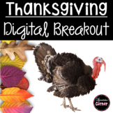 Thanksgiving Breakout Activity