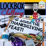 Thanksgiving Lockbox Challenge|Thanksgiving Enrichment|Tha