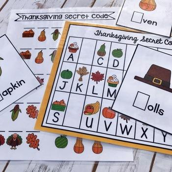 Thanksgiving Lockbox Challenge|Thanksgiving Enrichment|Thanksgiving Puzzles