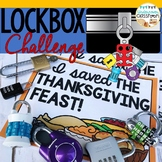 Thanksgiving Lockbox Challenge | Thanksgiving Enrichment | Breakout Box