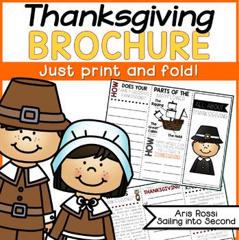 Thanksgiving Brochure