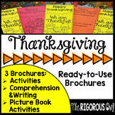 Thanksgiving Brochure Tri-Folds