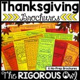 Thanksgiving Brochure Tri-Folds