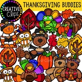 Thanksgiving Buddies {Creative Clips Digital Clipart}