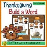 Thanksgiving Build a CVC Word