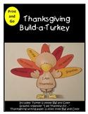 I am Thankful for - Build a Turkey Craft