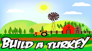 Thanksgiving - Build a Turkey (Google Slides)