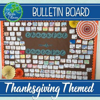 Thankful and Grateful Bulletin Board