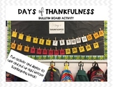 Thanksgiving Bulletin Board Activity