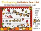 Thanksgiving Bulletin Board For Fall