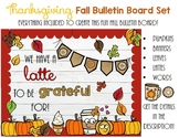 Thanksgiving Bulletin Board For Fall