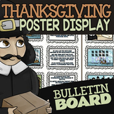 Thanksgiving Bulletin Board ★ Thanksgiving Poster & First Thanksgiving Display