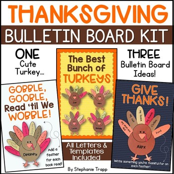 Thanksgiving Bulletin Board Ideas For First Second And Third Grade
