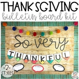 Thanksgiving Bulletin Board Kit