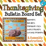 Thanksgiving Bulletin Board Set - Pilgrims - NOVEMBER B.B.
