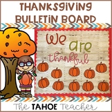 Thanksgiving Bulletin Board   With Writing Prompt