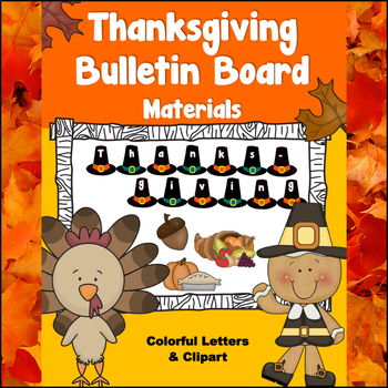 Thanksgiving Bulletin Board and Art