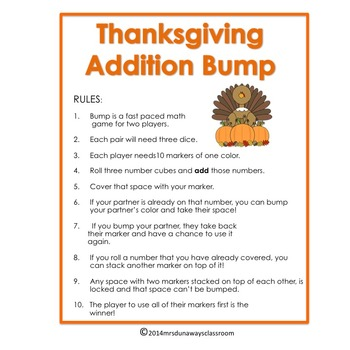 Thanksgiving Bump