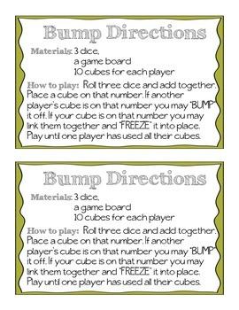 Thanksgiving Bump (3 dice addition)