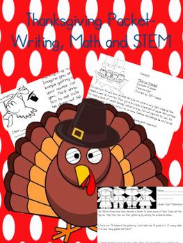 Thanksgiving Activities Upper Elementary