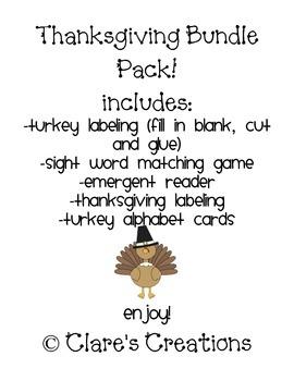 Thanksgiving Bundle #2!