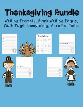 No-Prep Thanksgiving Bundle