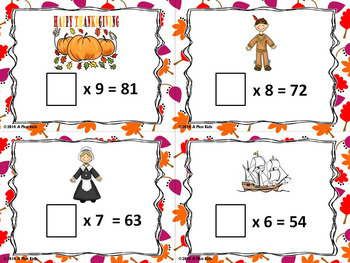 Thanksgiving Bundle of and Math and Literacy