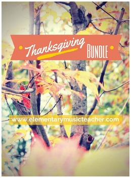 Thanksgiving Bundle: 6 movement songs with activities!