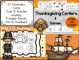 Thanksgiving Activities Bundle! Printable Hat, Bonnet,&Nat