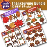 Thanksgiving Bundle Clipart
