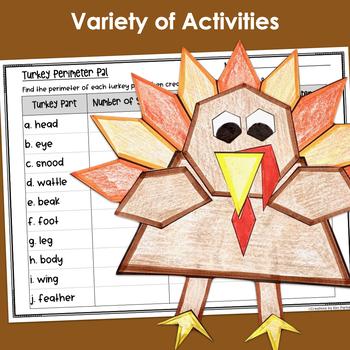 Thanksgiving Bundle Third Grade (6 Resources)