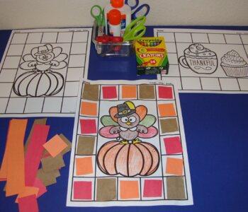 Thanksgiving Bundle Fall Centers Autumn Math Literacy Thanksgiving Activities