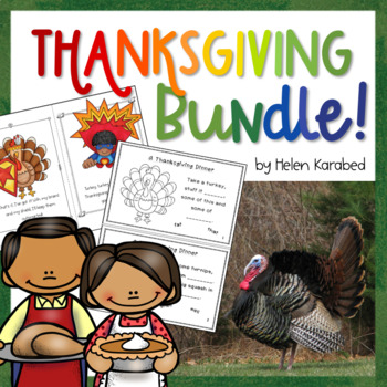 Thanksgiving Bundle: Funny Poems + Short Rhyming Story