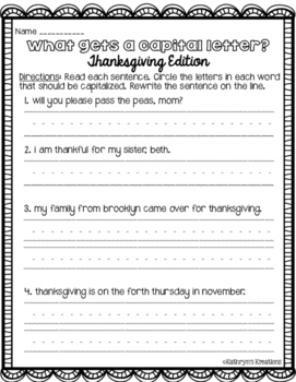 Thanksgiving Bundle: Math & Literacy Activities!