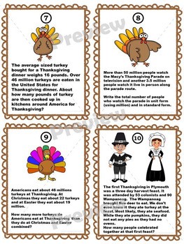 Thanksgiving Bundle: Math Scavenger Hunt and Silly Reward Coupons