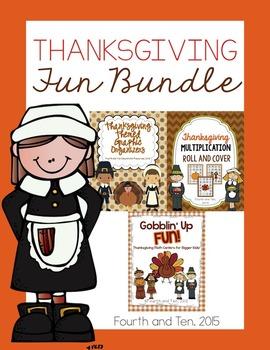 Thanksgiving Bundle {Upper Elementary}