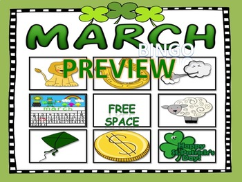 March Bundle for Teaching Vocabulary, and Concepts.