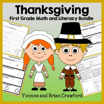 Thanksgiving Bundle for First Grade Endless