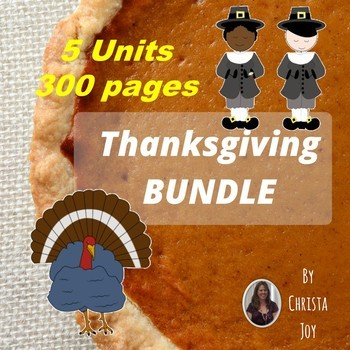 Thanksgiving Bundle for Special Education