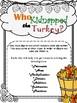 Thanksgiving C.S.I. Math {Kidnapped TURKEY} {NO PREP}