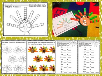 Thanksgiving CCSS Math, Literacy, and Social Studies Centers
