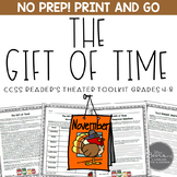 Thanksgiving Reader's Theater and Reading Literature Toolkit for Grades 4-8