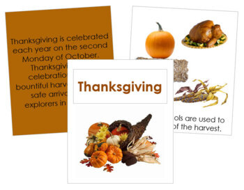 Thanksgiving (CDN) Cards and Booklet