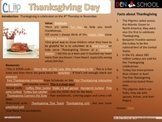 Thanksgiving CLIP (Creative Learning in a Pinch)