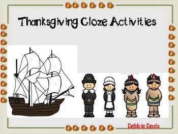 Thanksgiving CLOZE