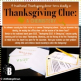 Thanksgiving CLUE: A Chemystery