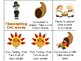 Thanksgiving CVC, CCVC and CVCC, CVCe CCVCe and Nonsense Words Games