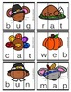 Thanksgiving CVC Puzzles